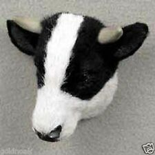 HOLSTEIN BULL! Collect Fur Refrigerator Magnets (Handcrafted & Hand painted)