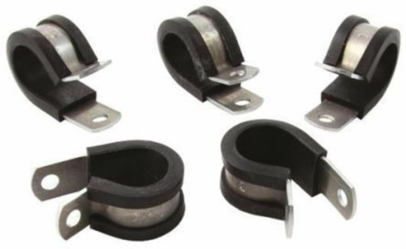 Hellermanntyton Cavo Clip black Vite Lega di Alluminio, Clgoldprene P Morsetto, 31