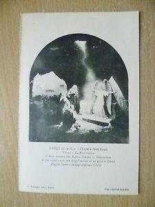 Postcard-DREUX-Chapelle-Saint-Louis-Vitrail-La-Resurrection