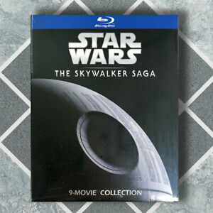 Star Wars The Skywalker Saga Collection Complete 1-9 Blu-ray, 9 Discs US Seller