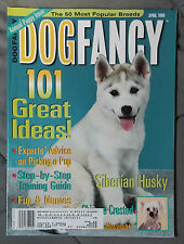 Dog Fancy Magazine 1999 April German Hovawart Siberian Husky Chinese Crested