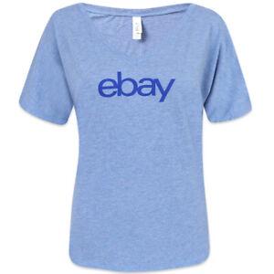 Women-039-s-Cut-V-neck-T-shirt