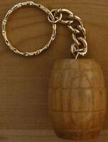 solid Oak Barrel Key Ring Dart Sharpener.
