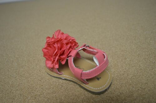 New in Box Sarah Jayne Lil Flower Coral Girl/'s Baby Sandals