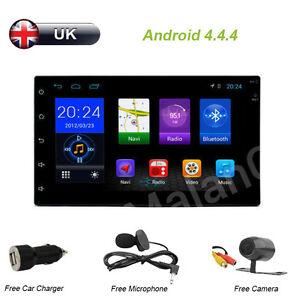 Head Unit Android 44 7034 Double Din Car GPS Sat Nav BT RadioRDSCamera Free SD - <span itemprop=availableAtOrFrom>Southall, Middlesex, United Kingdom</span> - Head Unit Android 44 7034 Double Din Car GPS Sat Nav BT RadioRDSCamera Free SD - Southall, Middlesex, United Kingdom