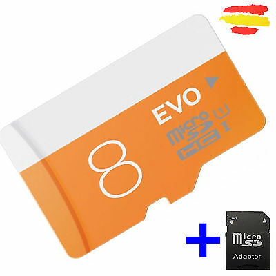 TARJETA MEMORIA 8GB CLASE 10 OEM MICROSD 8 GB MICRO SD E SDHC MOVIL