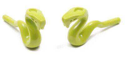 2 x Schlange hell grün Lime LEGO Ninjago // Kobra // Zepter // 98136 NEUWARE