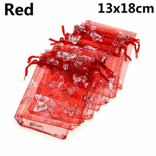 Decoration Butterfly Organza Candy Pouch Jewelry Gift Package Packaging Bag
