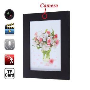 702P Mini DV Photo Frame Home Hidden Spy Camera Audio Recorder Motion Detector