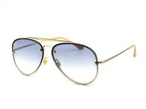 Ray Ban BLAZE Aviator RB 3584-N Sunglasses 001/19 Gold / Blue Gradient  #31G
