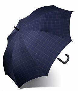Esprit-Paraguas-Gents-Long-AC-Check-Blue
