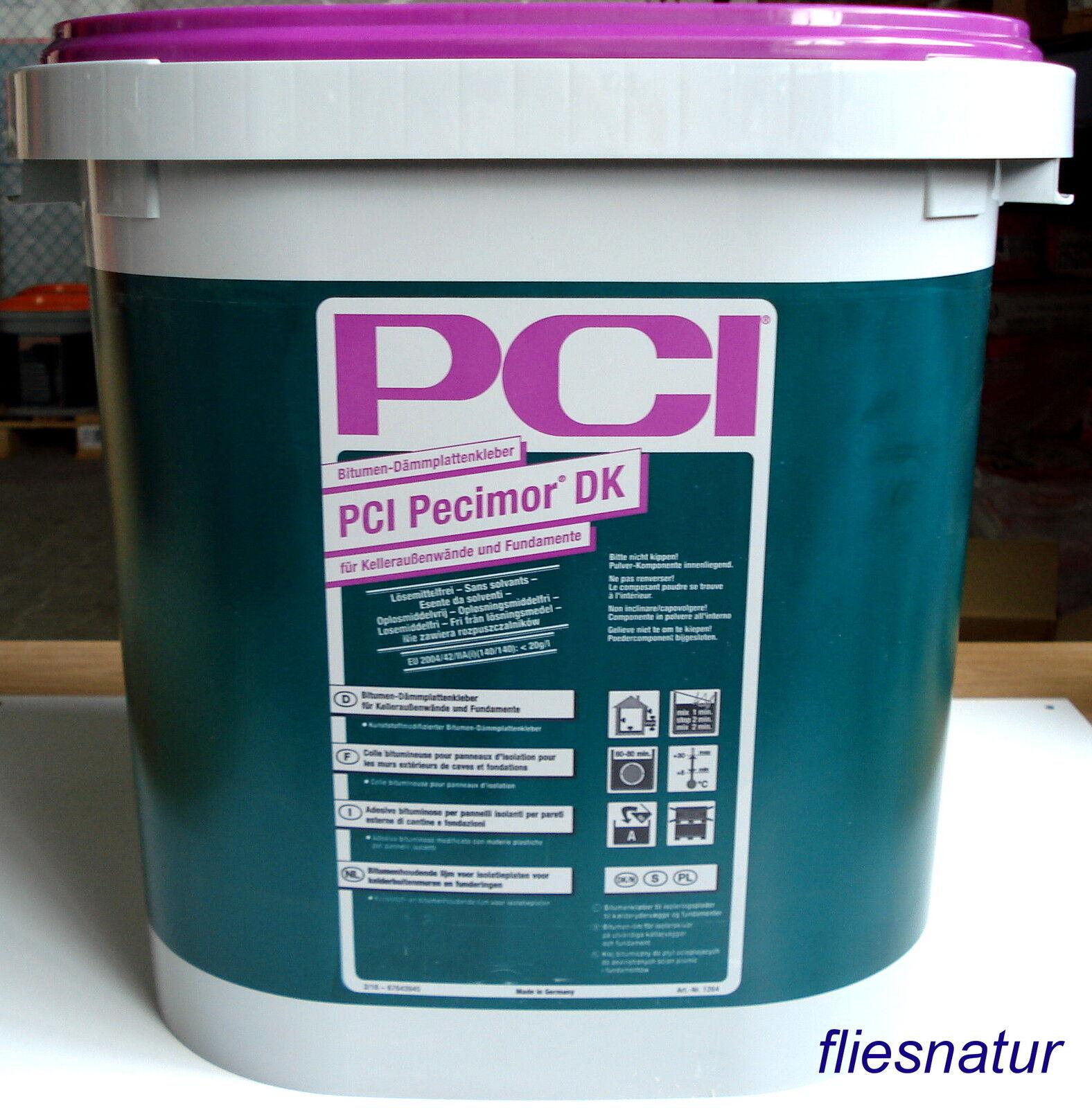 PCI Pecimor DK 28L Bitumen Dämmplattenkleber Kelleraußenwände Fundament/L