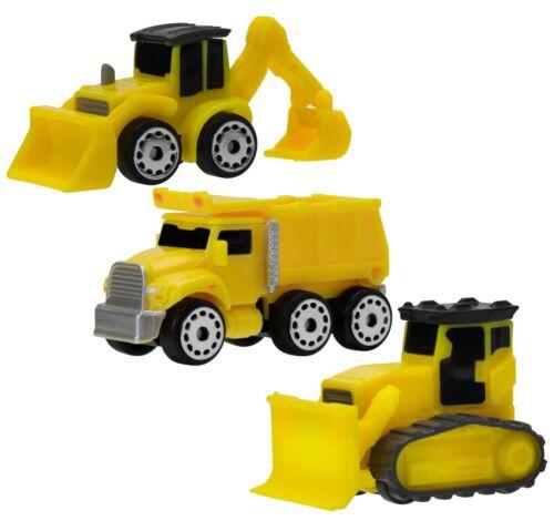 Bagger // Kipper // Bulldozer MicroMachines Fahrzeug-Pack Serie 1 #02 Baustelle