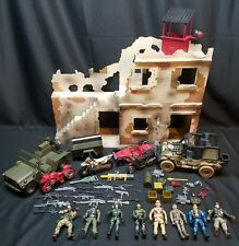 Soldier Force True Heroes Chap Mei Toys R Us Bundle Lot Jeep Cycles Figures Bld