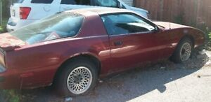 1988 Pontiac Firebird (Project Car) for sale