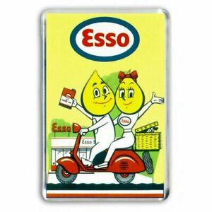 RETRO-ESSO-PETROL-ADVERT-JUMBO-FRIDGE-LOCKER-MAGNET