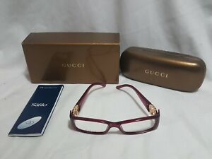Gucci-GG-3136-GTE-135-Optyl-Plum-Purple-Rose-Eyeglasses-w-Case-glasses