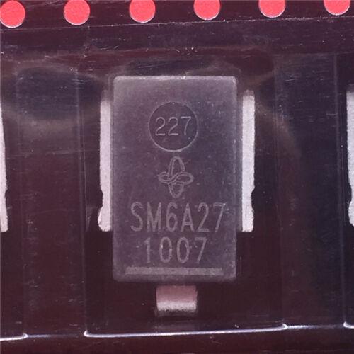 Encapsulación 5PCS SM6A27 DO218 montaje en superficie automotriz tensión transitoria
