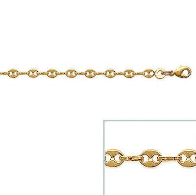 Bracelet FEMME Cristal BLEU GRAIN DE RIZ Plaqué OR NEUF BijouterieJOLYBIJOUX