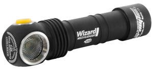 armyTek-LED-Stirnlampe-Taschenlampe-Wizard-V3-Magnet-USB-Akku-amp-Zubehoer