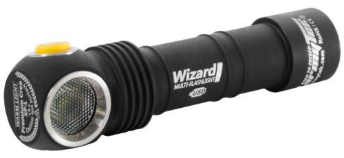 Batterie /& Accessoires Armytek DEL Lampe frontale//Lampe de Poche Wizard v3 magnétique USB