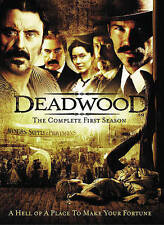 Deadwood - The Complete First Season (DVD, 2014, 6-Disc Set)