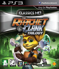 THE RATCHET & CLANK TRILOGY PS3 GAME USED IN GOOD CONDITION