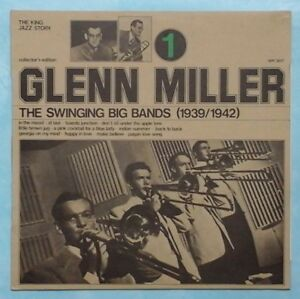 GLENN-MILLER-SWINGING-BIG-BANDS-VOL-1-1974-ITALIAN-12-TRACK-VINYL-LP-RECORD