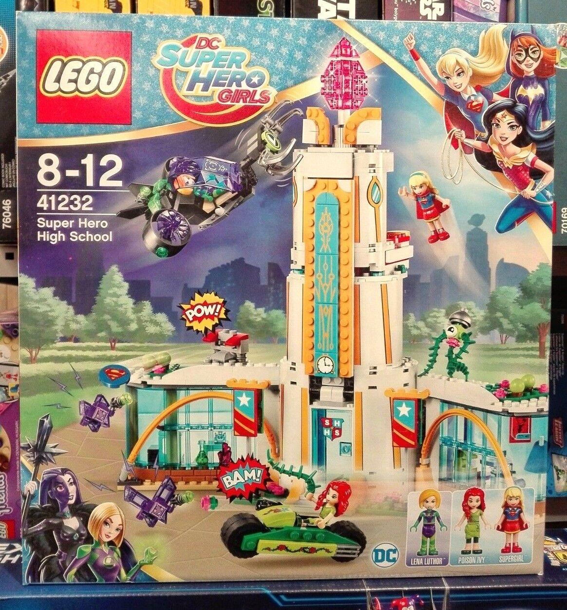 compra nuovo economico LEGO 41232 - IL IL IL LICEO DEI SUPER EROI - DC SUPER HERO GIRLS - NUOVO  prezzi più bassi