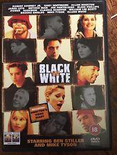Robert Downey Jr Brooke Shields Mike Tyson BLACK & WHITE ~ 1999 ~ Rare UK DVD
