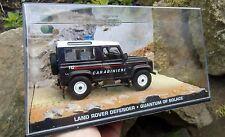 007 JAMES BOND Land Rover Defender Italy Police Carabinieri 1:43 BOXED CAR MODEL