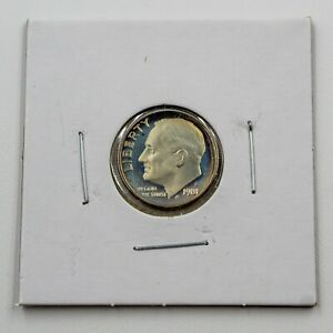 1981 S Type 1 Rounded S Roosevelt Dime Choice Proof 10c US Coin Collectible