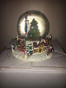 image is loading disney christopher radko christmas musical snow globe 034 - Christmas Musical Snow Globes