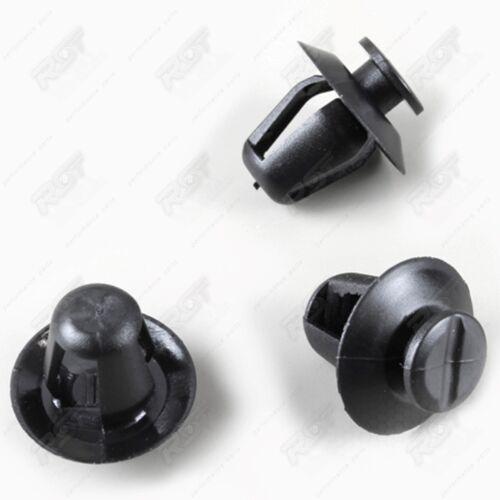 10x Coupez Barre de Protection Latérale Clips de Fixation pour Citroen Saxo
