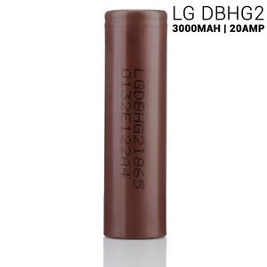 Image is loading LG-HG2-18650-3000mAh-20A-Authentic-Original-Rechargeable-