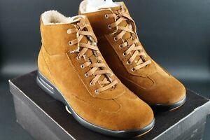 RARE-Cole-Haan-Air-Conner-Boot-in-pelle-scamosciata-marrone-chiaro-tg-UK-9-5-EU-43-5-OG-DS-vintage