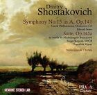 Shostakovich: Symphony No. 15 in A, Op. 141; Suite, Op. 145a; Novorossisk Chimes (CD, May-2016, Praga Digitals)