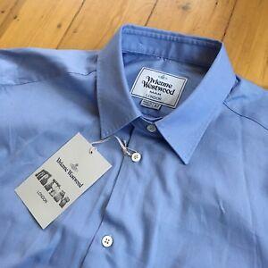 5f18176a2 Vivienne Westwood Long Sleeve Shirt. 52 XL. Light Blue. Brand New ...