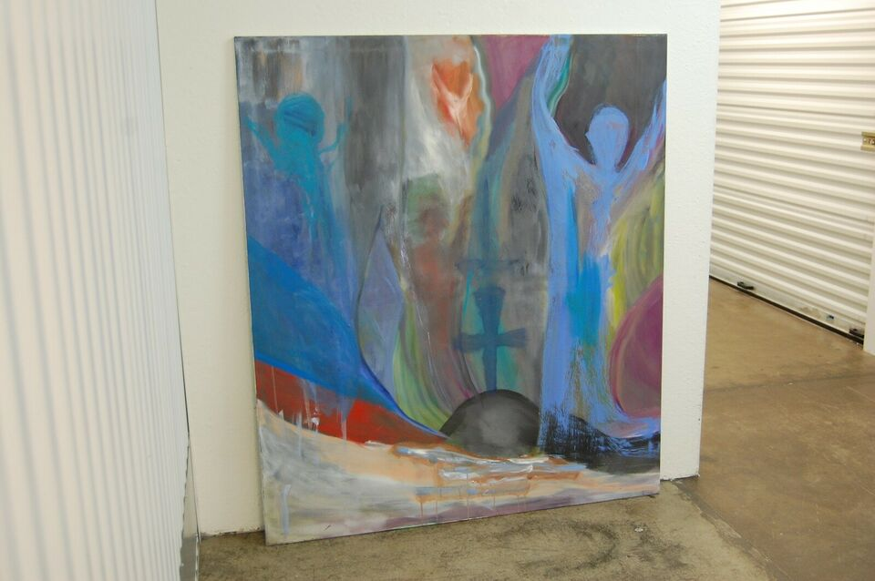 Akrylmaleri, KARE Original kunst , motiv: Abstrakt