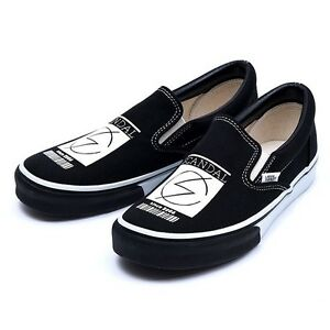 23971484ec NIB SCANDAL × VANS SLIP ON Shoes Black japan band fast shipping