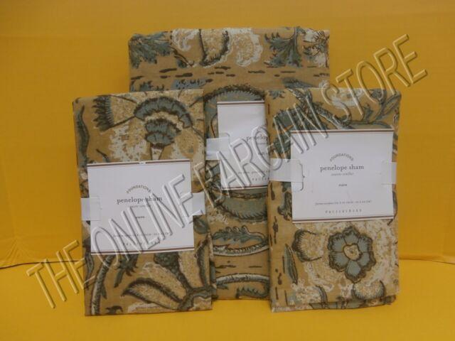 Pottery Barn Penelope Kalamkari Floral Duvet Cover Full
