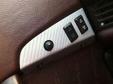 Carbon Fiber Finish Power Window Switch Panel Trim Cover : fits Porsche 944 968