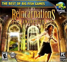 BIG FISH GAMES: REINCARNATIONS: AWAKENING. BRAND NEW. SHIPS FAST and SHIPS FREE!