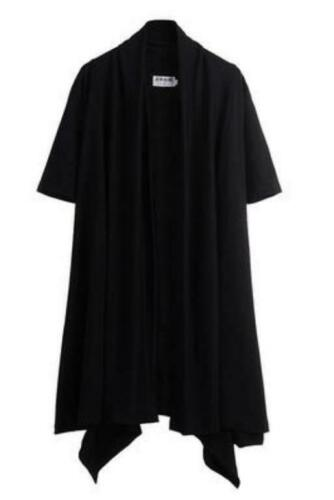 Men/'s Gothic Long manteau cape Punk Manteau Lâche Loisirs Veste Trench Outwear New