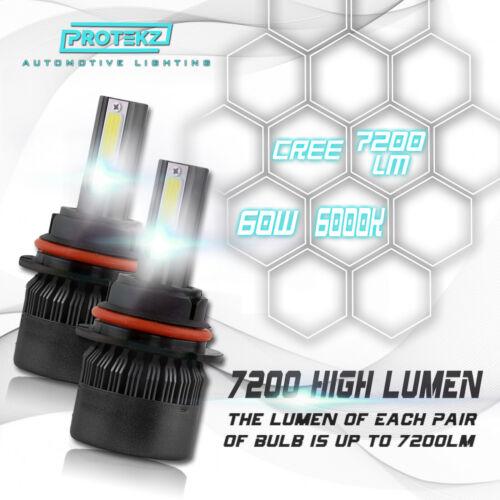 LED Headlight Kit H7 White 6000K High Beam CREE Bulb for HYUNDAI EQUUS 2011-2016