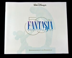 Walt-Disney-039-s-Fantasia-50th-Anniversary-Commemorative-Program-Mickey-1940-1990