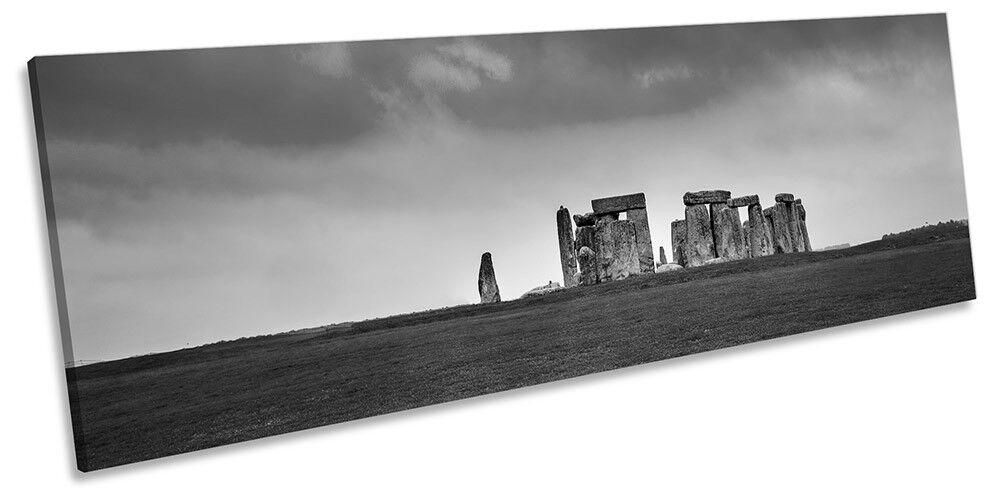 Piatto Stonehenge B&W incorniciato PANORAMA PANORAMA PANORAMA stampa art. a muro 540c25