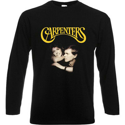 THE CARPENTERS 70s Classic Pop Duo Karen Richard Men/'s Black T-Shirt Size S-3XL