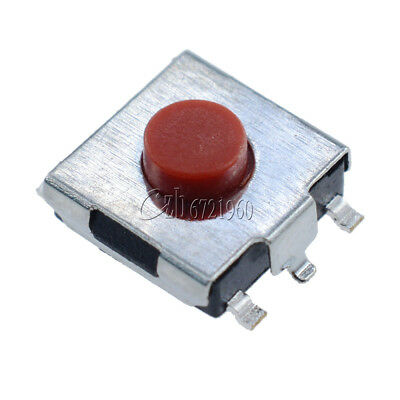 100Pcs Tactile Push Button Switch Tact Switch 6X6X3.1mm SMD