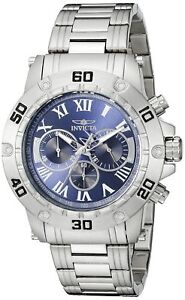 Invicta-Men-039-s-19697-Specialty-Analog-Display-Quartz-Silver-Watch